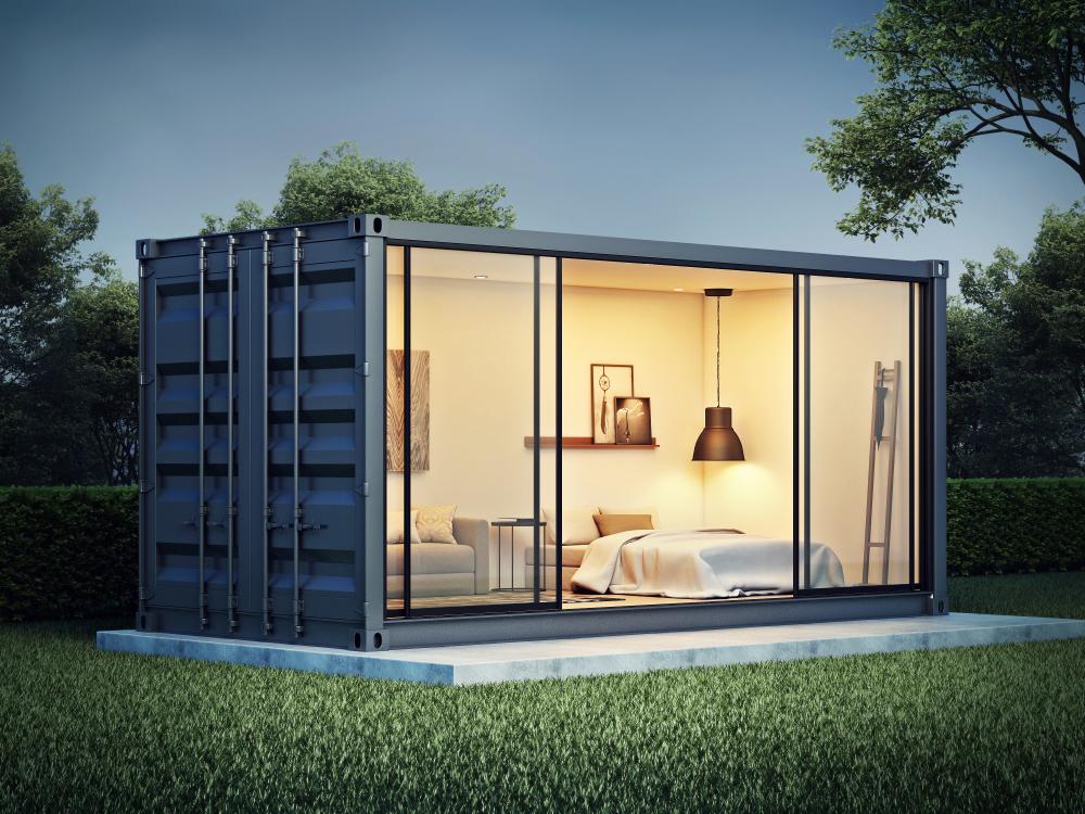 シンプルなデザインが特徴のコンテナハウスのメリットとは?