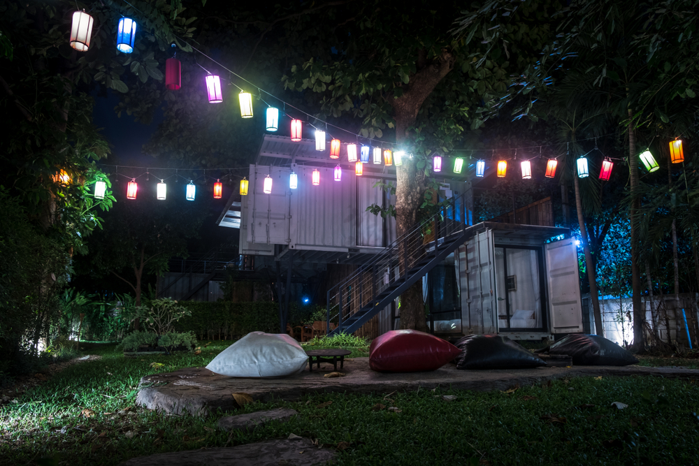 軽井沢のキャンプ地にもコンテナハウスができた